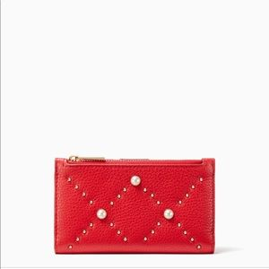 Kate Spade Hayes Street Pearl Mikey Royal Red